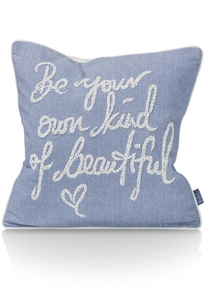 coussin Be Beautiful - 45 x 45 cm-1
