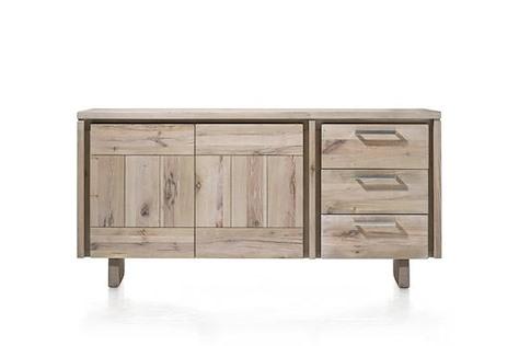 More, buffet 2-portes + 3-tiroirs 180 cm - bois