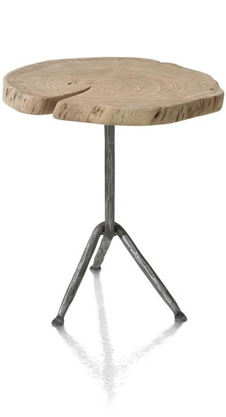 table d'appoint Lowie Large - environ 45 x 45 cm-1