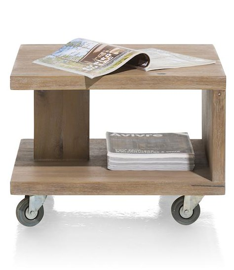 Box, bout de canape 55 x 55 cm + 1-niche-1