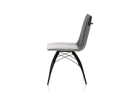 kyle chaise pied noir avec poignee tatra miami combinaison. Black Bedroom Furniture Sets. Home Design Ideas