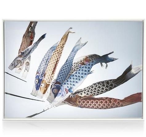 painting Fish Kyte - 74 x 104 cm-1