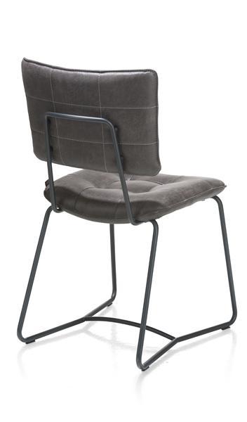 Julien, dining chair - black frame - Corsica-1