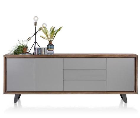 Box, sideboard 3-doors + 3-drawers - 240 cm-1