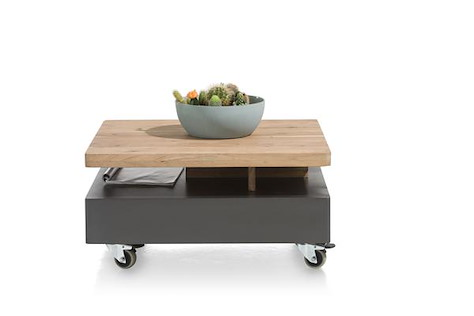 Quebec, coffee table 80 x 70 cm - turning top-1