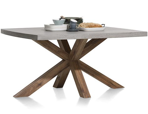 Maestro, table 150 x 130 cm - plateau beton
