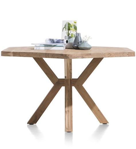 Quebec, table 150 x 130 cm - pieds en bois