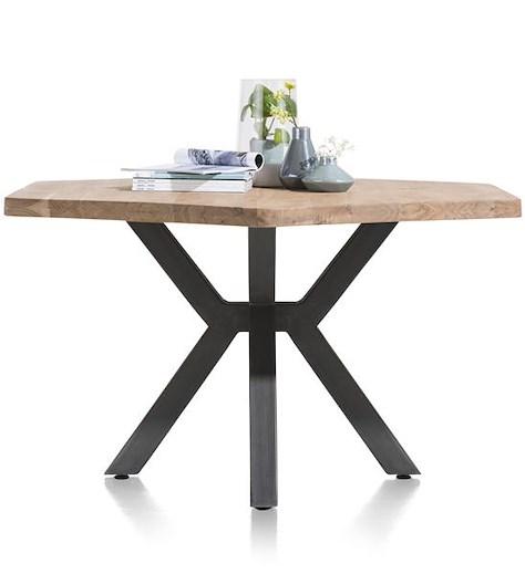 Quebec, dining table 150 x 130 cm - metal legs-1