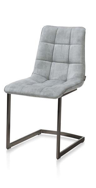Kate, chaise - cadre metal vintage - Maison mint + passepoil Maison mint