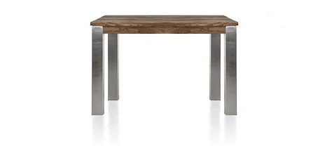 Masters, table 120 x 90 cm - inox 9x9