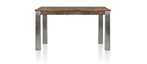 Masters, table 140 x 90 cm - inox 9x9