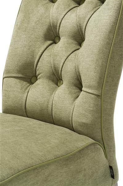 Jenna, chaise - Pieds chene weathered grey - Volterra / Tatra