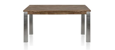 Masters, table 160 x 140 cm - inox 9x9