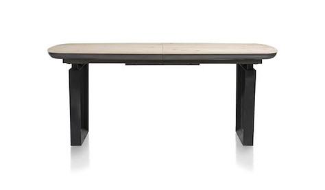 Prato, table a rallonge 180 (+ 60) x 100 cm