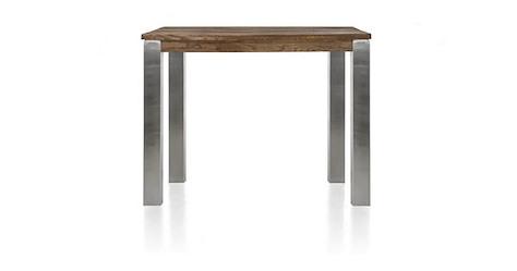 Masters, table de bar 120 x 70 cm - inox 9x9