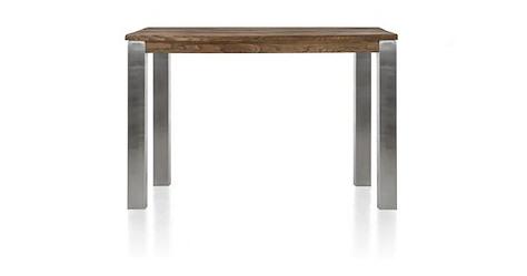 Masters, table de bar 140 x 70 cm - inox 9x9
