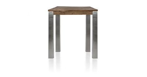 Masters, table de bar 90 x 90 cm - inox 9x9