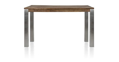 Masters, table de bar 160 x 90 cm - inox 9x9