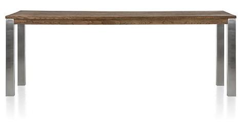 Masters, table de bar 260 x 100 cm - inox 9x9