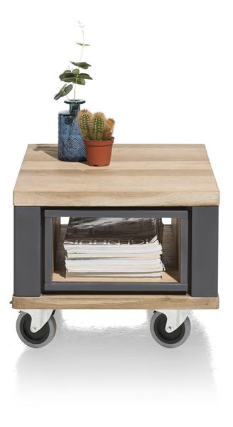 Jardin, table d'appoint 60 x 50 cm + 1-niche