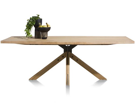Jardino, table 170 x 100 cm - pied central