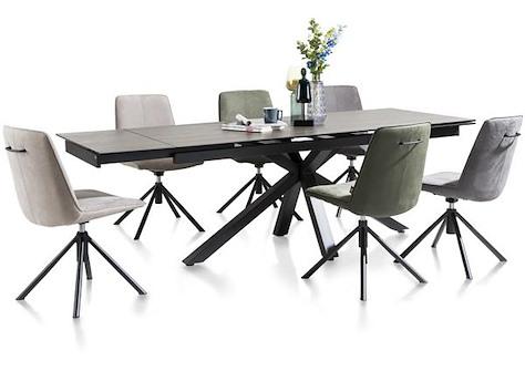 Multi, table a rallonge 200 (+ 2x40) x 90 cm