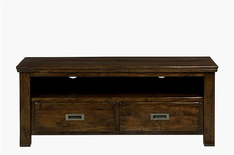 Cape Cod, meuble-tv 2-tiroirs + 1-niche - 130 cm-1