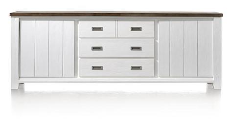 Velasco, sideboard 2-doors + 3-drawers - 240 cm-1