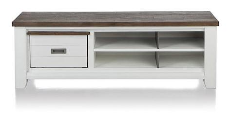 Velasco, tv-sideboard 1-basket + 4-niches - 160 cm-1