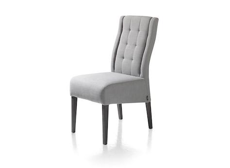 chaise lea pied pampas grey tissu river 4 couleurs heth. Black Bedroom Furniture Sets. Home Design Ideas