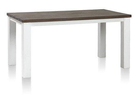 Velasco, table a rallonge 190 (+ 60) x 100 cm