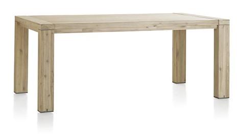 Buckley, table a rallonge 190 (+ 50 cm) x 100 cm-1