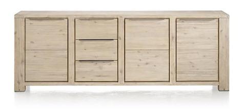 Buckley, sideboard 3-doors + 3-drawers 250 cm-1
