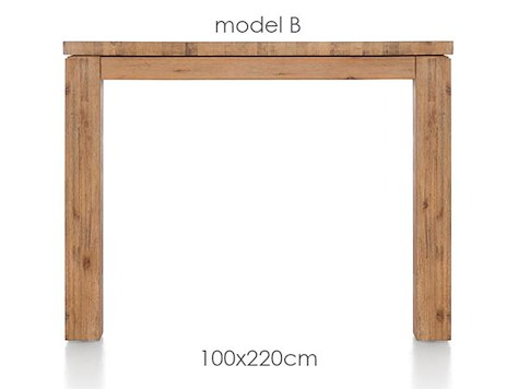 A La Carte, dining table 220 x 100 cm - BEN-1