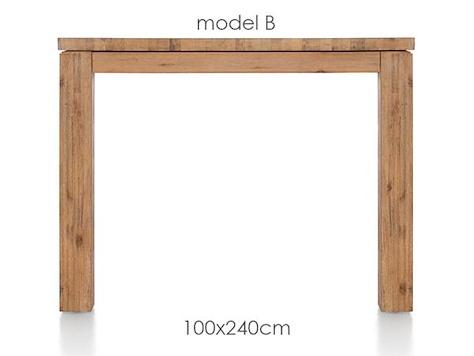 A La Carte, dining table 240 x 100 cm - BEN-1