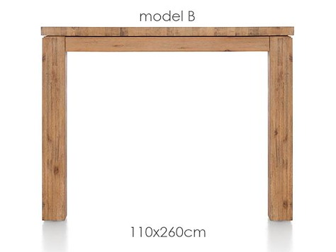 A La Carte, table 260 x 110 cm - BEN-1