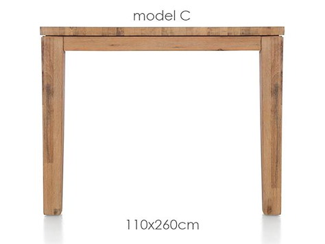 A La Carte, table 260 x 110 cm - COR-1