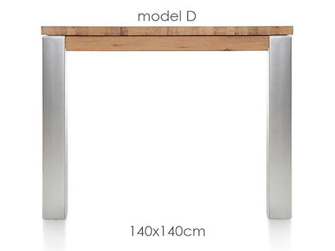 A La Carte, table 140 x 140 cm - DIRK-1