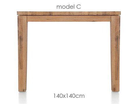 A La Carte, dining table 140 x 140 cm - COR-1