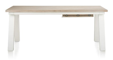 Istrana, table a rallonge 190 (+ 60) x 100 cm-1