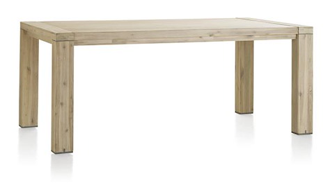 Buckley, table a rallonge 160 (+ 50 cm) x 100 cm-1