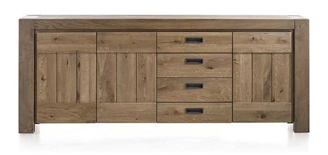 Santorini, sideboard 3-doors + 3-drawers - 230 cm-1