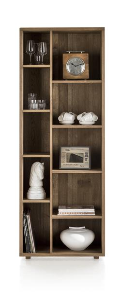 Santorini, bookcase 10-niches-1
