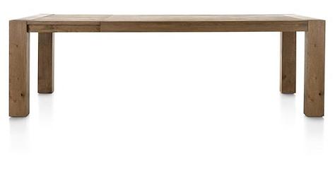 Santorini, extendible dining table 190 (+ 60) x 100 cm-1