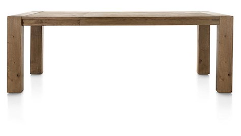 Santorini, extendible dining table 160 (+ 60) x 100 cm-1