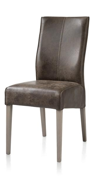 Elke, chaise pieds hetre + weathered grey + Old English-1