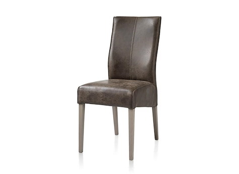 Elke Chaise Pieds Hetre Weathered Grey Old English