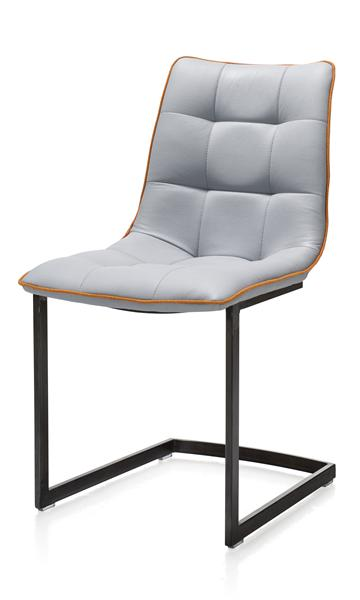 Kirby, chair - frame stainless steel or vintage metal-1