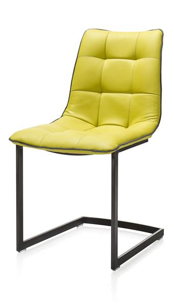 Kate, chaise - cadre inox ou metal vintage
