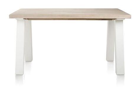 Istrana, extendable dining table 160 (+ 50) x 100 cm-1